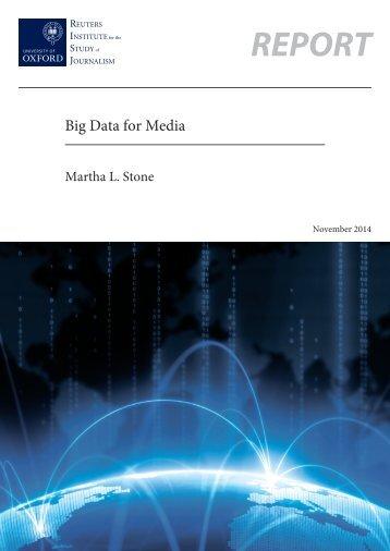 Big Data For Media