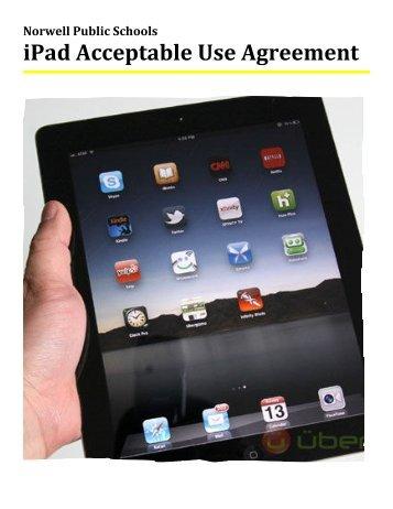 iPad Acceptable Use Agreement - Norwell Public Schools