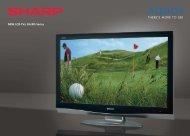 NEW LCD-TVs: RA/RD Series - LCD és plazma TV diszkont