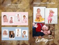 Download the Children's Portrait Price Guide - LeMay Photography