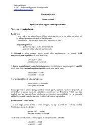 Finn nyelvi előkészítő I. (3. órai anyag) - Debreceni Egyetem