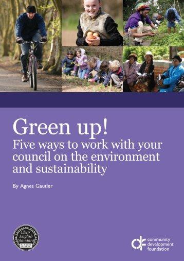 Green up! - Community Development Foundation