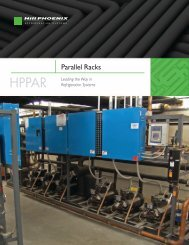 Parallel Racks Brochure - Hillphoenix