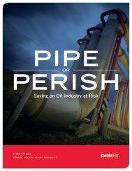 Pipe or Perish - Canada West Foundation
