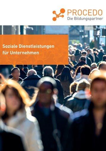 Download der Angebots-Info als PDF-Datei - PROCEDO BERLIN