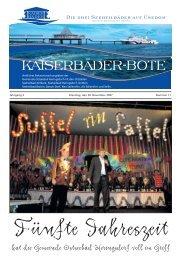 in der Seestraße vom 30. November bis 02. Dezember 2007 täglich ...