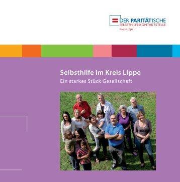 Selbsthilfe im Kreis Lippe - Selbsthilfe-Kontaktstelle Kreis Lippe