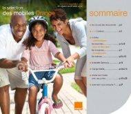 le catalogue des mobiles en pdf - Orange
