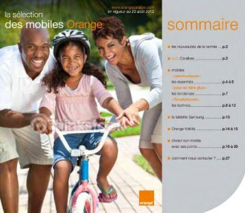 le catalogue des mobiles en pdf - Orange