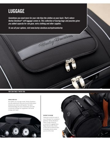 LUGGAGE - Harley Davidson Shop