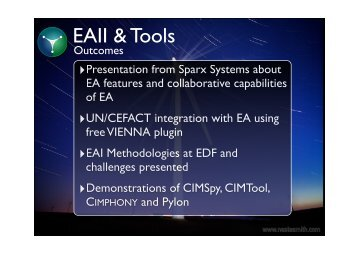 EAII & Tools Outcomes.key - CIMug
