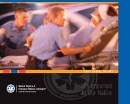It Is Important - National Registry of Emergency Medical Technicians