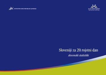 Sloveniji za 20. rojstni dan - Statistični urad Republike Slovenije