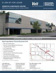 13850 Cerritos Corporate Dr #B/C - Flyer - Voit Real Estate Services