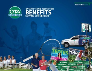 Club Membership Benefits - Ontario Tennis Association