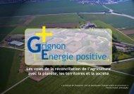 Grignon Energie Positive, les voies de la - AgroParisTech