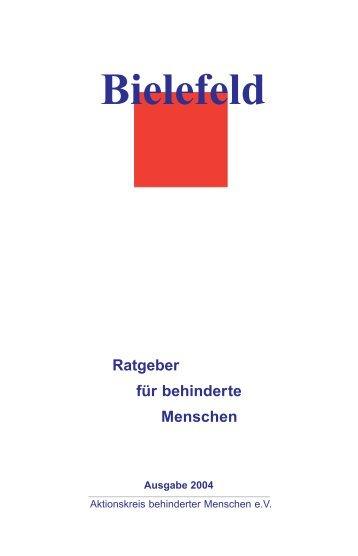 Bielefeld - Ratgeber für behinderte Menschen