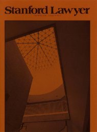 Fall/Winter 1978 – Issue 22 - Stanford Lawyer