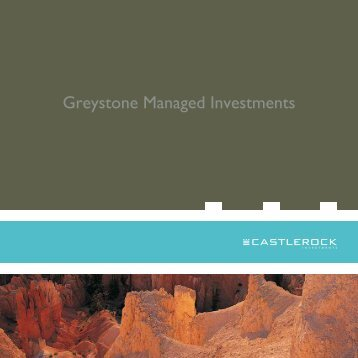 Greystone managed investments - CI Investments