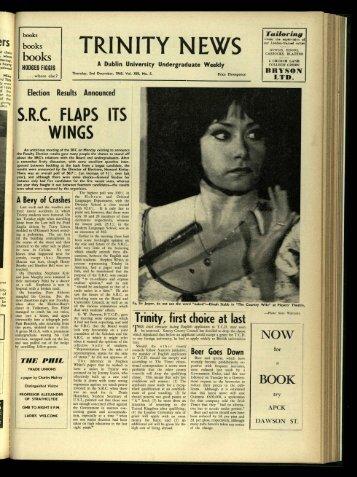 TR! N ITY N EWS - Trinity News Archive