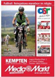 ASR Sport Ausgabe Juni 2011 - Allgäu Sport Report
