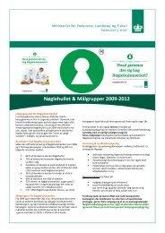 Nøglehullet & Målgrupper 2009-2012 - noeglehullet.dk