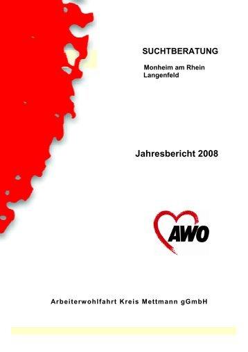 Jahresbericht 2008 - AWO Mettmann