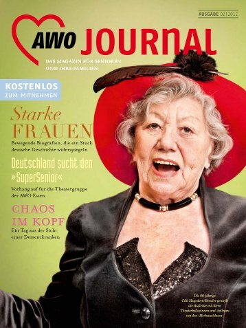 Starke FRAUEN - AWO Journal