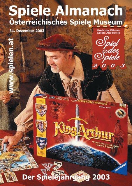 Spiele Almanach - österreichisches Spiele Museum