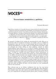 Terrorismo: semántica y política - Fernando Butazzoni