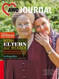 Die AWO als Pionier der Online-Pflegeberatung - AWO Journal