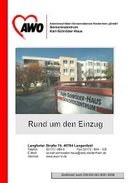 Seniorenzentrum Karl-Schröder-Haus Langforter Straße 74, 40764 ...