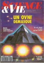 L'avion F-117 comme origine de la vague belge d'ovnis - Ufo-Science