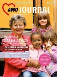 Ein Haus VollEr lEbEn - AWO Journal