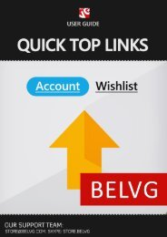 Quick Top Links User Guide - BelVG Magento Extensions Store