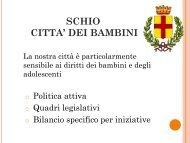 SCHIO LA CITTA' DEI BAMBINI - Benvenuti nel sito dei ragazzi della ...