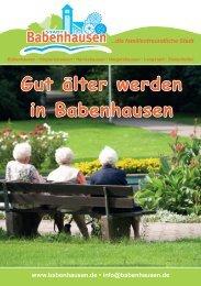 Gut älter werden in Babenhausen