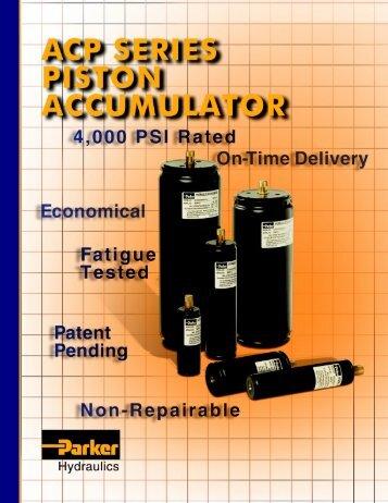 Piston design - Oleosistemas