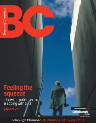BC issue 07.indd - The Edinburgh Chamber of Commerce