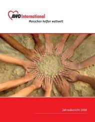 Jahresbericht 2006 Menschen helfen weltweit - AWO international