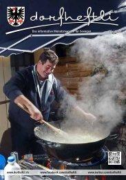 Das informative Monatsmagazin für Seengen 12 / 2013 - dorfheftli