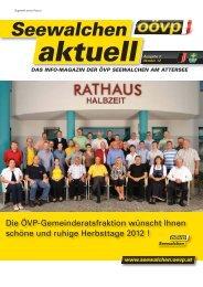 3/2012 - Seewalchen - ÖVP Oberösterreich