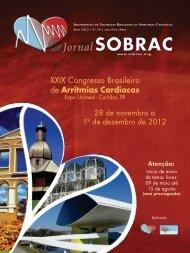 24º edição do Jornal da SOBRAC - Departamentos Científicos