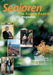 Senioren - Baden-Baden