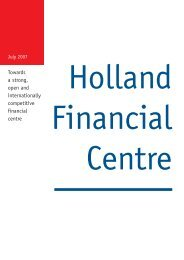 Introduction by Arthur Docters van Leeuwen - Holland Financial ...