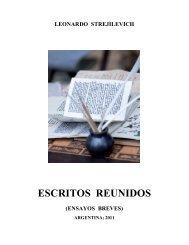 ESCRITOS REUNIDOS - Salta