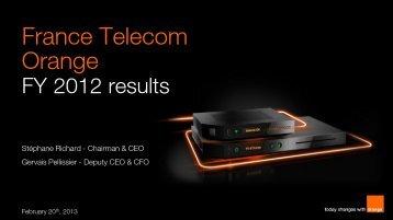 download the presentation (pdf - 1,62 Mo) - Orange.com