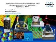 High Resolution Quantitative Kelvin Probe Force Microscopy - Bruker