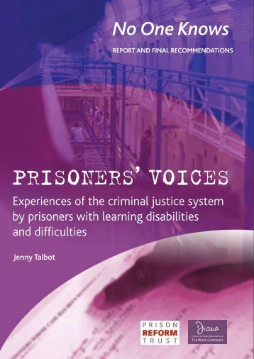 PRISONERS VOICES ' - Women With Disabilities Australia