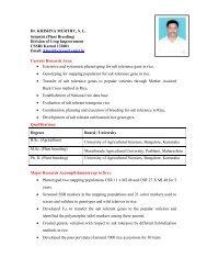 Dr. KRISHNA MURTHY, S. L. Scientist (Plant ... - CSSRI Karnal